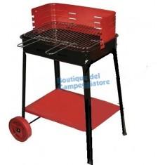 Barbecue con ruote 50x35xh80