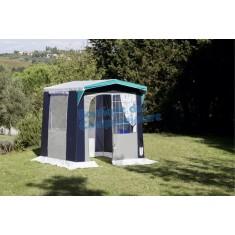 Cucinino Nova 200x150 Modello esclusivo con finestra colore Blu Grigio