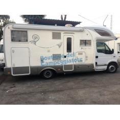 Camper Usato Mansardato con Garage - Mobilvetta Huary 1001