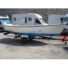 Barca artigianale con carrello Non omologata