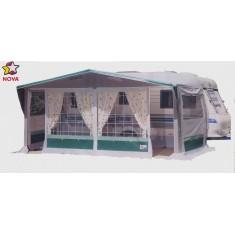 Tenda veranda Aurora verde tg.4 7,40-7,70
