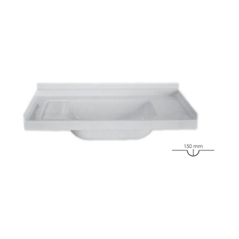 Lavandino per bagno L 695 x P 330 mm