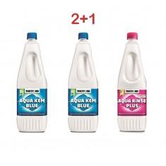 Kit 2 aqua kem + 1 aqua rinse