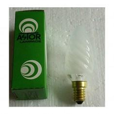 3 lampadine 15w tortiglione astor