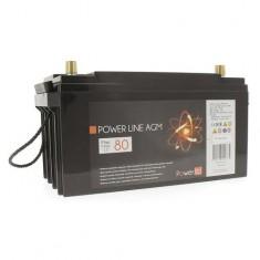 Batteria Power line AGM 80Ah