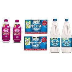 Aqua Kem + Aqua Rinse + Carta Igienica